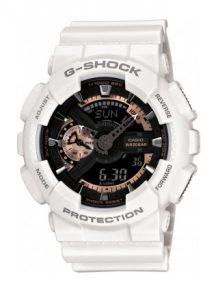 бял мъжки часовник
